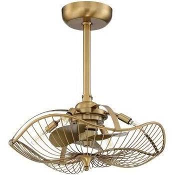 Art Deco Ceiling Fan Flakt
