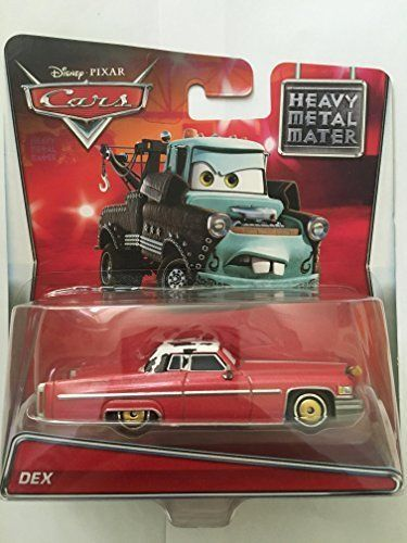 CARS Toon Mattel Disney Pixar HEAVY METAL McQUEEN