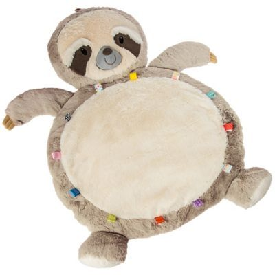 Mary Meyer Sloth Baby Playmat In White Tan Bed Bath Beyond
