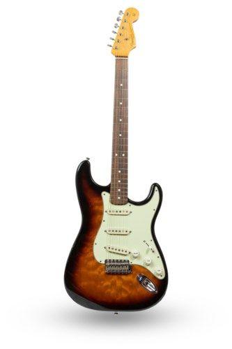 Fender Stratocaster Guitars Guitar Center >> 1994 Fender 62 Stratocaster Guitar Center 30th Anniversary Sunburst