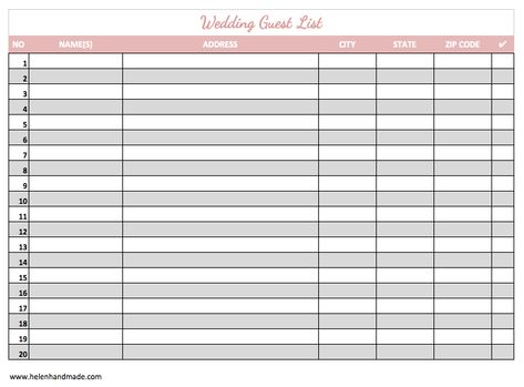 Amethyst menu Phoenicia Intercontinental Hotel - Amethyst bar - wedding guest list template