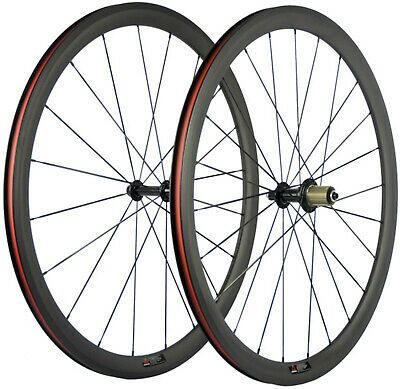 Details About 38mm Carbon Wheels 700c Road Bike Clincher Bicycle