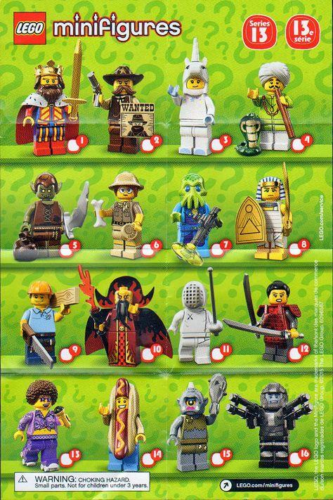 Mini figure lego-minifigure-series 15-fauna