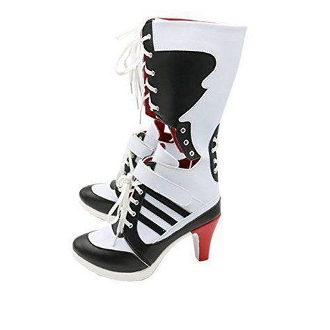 6035f8efb13f Batman DC Comics Suicide Squad Harley Quinn Cosplay Boots High Quality  Costume ! Suicide Squad Harley