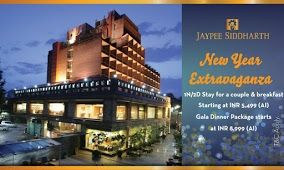 Jaypee Siddharth Nye 2018 Package New Years Party Years Newyear