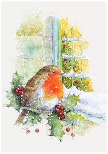 Fete Noel Belles Images Dessin Noel Aquarelle Noel