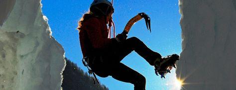 Eisklettern - Ahrntal - valle aurina - Südtirol - Italy