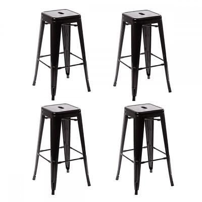 Details About New Metal Chair Height Bar Stools 24 Inches Indoor