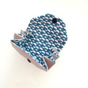Tuto gratuit : votre porte-monnaie origami
