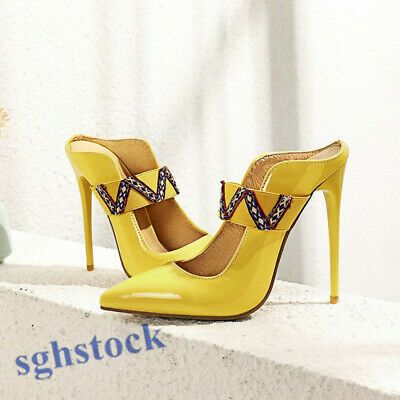 Advertisement)eBay- 2020 Elegant Womens High Heel Shoes Pointy Toe ...