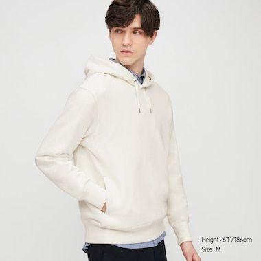 Long Sleeve Hooded Sweatshirt Sweat Capuche Uniqlo Sweat Homme