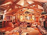 Grey Wolf Lodge - traditional - family room - other metro - The Munsterman Group LLC