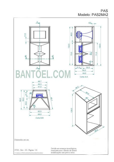 Skema Box Midle 10 Horn Tipe Pa Mid Hi10 Untuk Lapangan Bantoel Rangkaian Elektronik Pengeras Suara Speaker