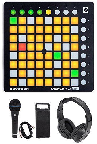 Novation LAUNCHPAD MINI MK2 MKII USB MIDI DJ Controller+Mic+