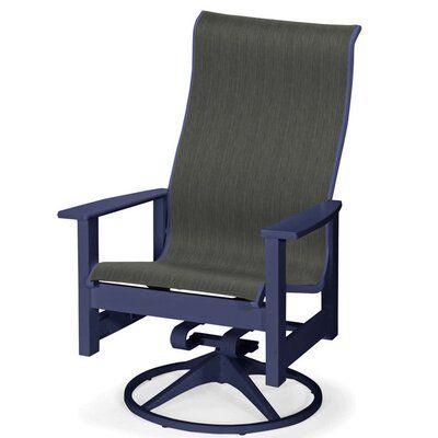 Pleasing Telescope Casual Leeward Swivel Patio Dining Chair Seat Short Links Chair Design For Home Short Linksinfo