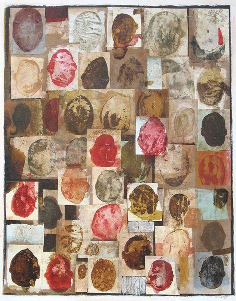 Heads by Scott Bergey on Etsy  #art