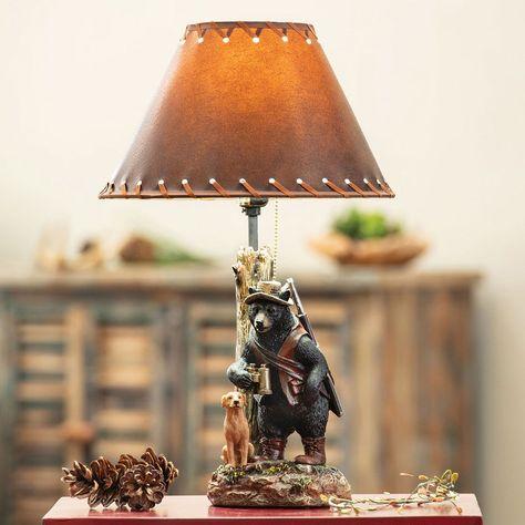 Best Friends Bear & Dog Lamp