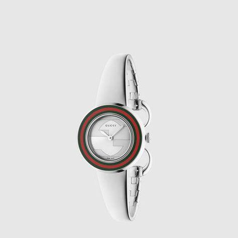 75cbff87e8b Gucci U-Play small stainless steel watch