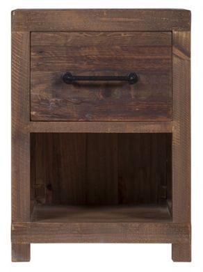 Stonemill Bedside Cabinet With Images Bedside Cabinet Wooden