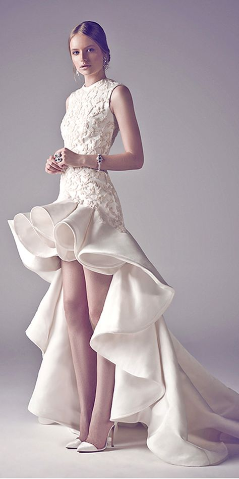 Most Popular Exotic Wedding Dresses From Ashistudio ❤ See more: http://www.weddingforward.com/exotic-wedding-dresses/ #weddings #dresses