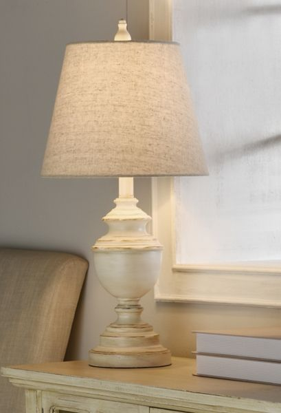Distressed Cream Table Lamp From Kirkland S Lamp Table Lamp Cream Table Lamps