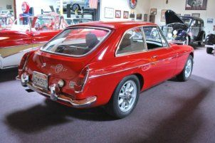 1968 MGC GT For Sale Rear   MG   Vintage cars, Cars, Classic