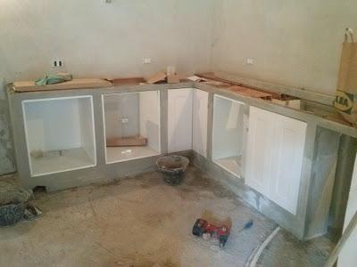Costruire una cucina in muratura con mobili ikea ...