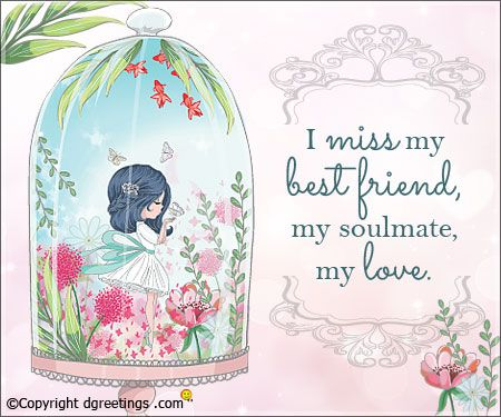 Miss You Card Miss My Best Friend Miss You Cards I Just Miss You