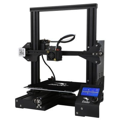 Creality 3d Ender 3 V Slot Prusa I3 Diy 3d Printer Kit 220 X 220 X 250mm Printing Size Eu Plug Black From Gearbest 3d Printer Kit Best 3d Printer 3d Printer