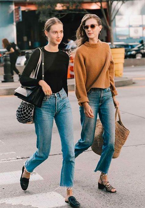 Denim - Fashion week jeans - Cropped Denim - Yes or no? #denim #jeans #fashion #style #inspiration