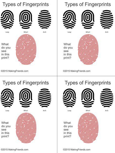 Simple illustration helps your detectives learn to read finger prints. Print four cards per page. Simple illustration helps your detectives learn to read finger prints. Print four cards per page. Girl Scout Badges, Girl Scout Troop, Scout Leader, Girl Scouts, Daisy Scouts, Photo Booth Anniversaire, Detective Party, Detective Crafts, Cub Scouts Bear