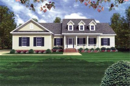 New House Plans 1800 Sq Ft Country Cape Cod Ideas