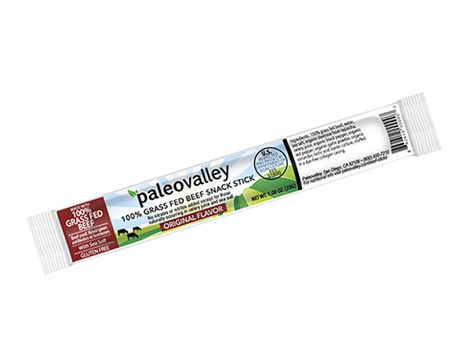 100 Grass Fed Beef Snack Sticks By Paleovalley Grass Fed Beef Snacks Food
