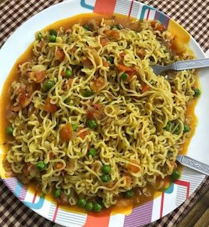 Rainkitchen Maggi Noodles With Vegetables How To Make Maggi