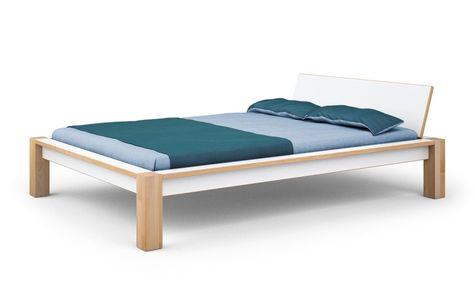 Bett Buche Weiss Alfred Nein 180 X 200 Cm Betten Bed