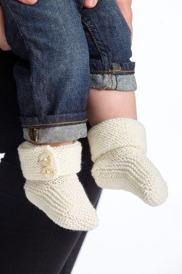 91533. BABYBOOTS i 2020 | Stickmönster sockor, Sticka, Virka
