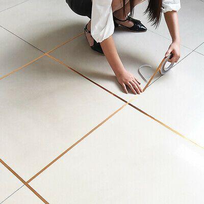 50m Self Adhesive Tile Sticker Strip Sealing Tape Strip Decal Home Decoration Ebay In 2020 Adhesive Floor Tiles Sticker Decor Room Flooring