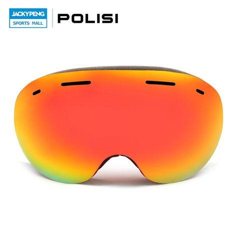 e3391a18ca1 (67.87 ) Watch here - POLISI Women Men Double Layer Anti-Fog Lens Glasses  Winter Ski Snow Goggles UV400 Outdoor Sport Snowboard Protective Eyewear