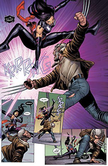 Astonishing X Men 2017 4 Marvel Comics Psylocke Comics Xmen Comics