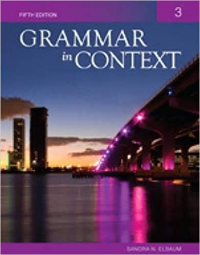 PDF+4CD] Collins Grammar in Context 3 Student's Book 5th