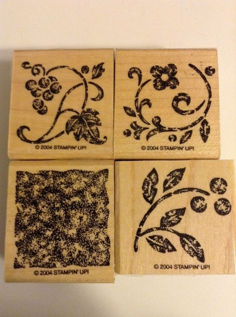 Inkadinkado Tassels Cling Stamps Sheet 2 by 6 Stamps & Ink Pads ...