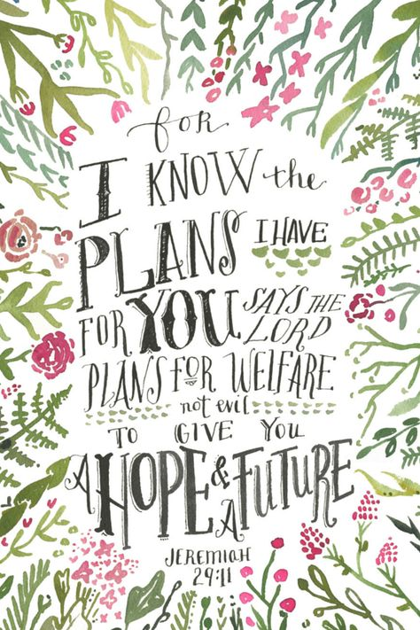 Walking with Purpose - Opening Your Heart 1 - Jeremiah 29:11 lock screen