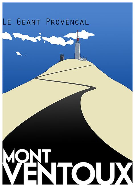 """""""Mont Ventoux"""" Posters by Rastas748 