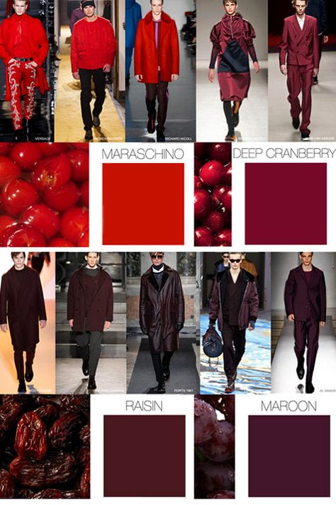 So Loving these colors for fall//cc: Fall-Winter 2015/2016 fashion trends: Menswear colors