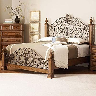 Amazon Com E King Bed By Coaster Furniture Kitchen Dining Traditional Style At Its Finest This Bedroom Group Is Made O In 2020 Furniture Traditional Bedroom Home