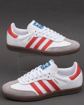 Adidas Samba Og Trainers White/Trace