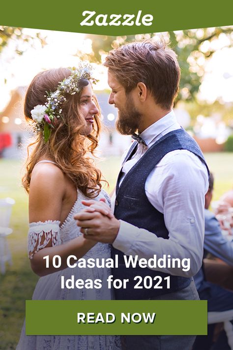 Top 10 Casual Wedding Ideas for 2021