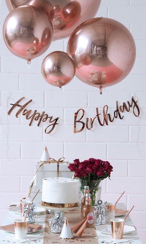 Oro rosa 4D redondo esfera globos // globos de boda // Baby | Etsy