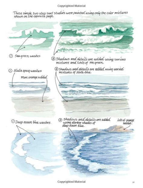 Down By The Sea With Brush And Pen Draw And Paint Beautiful