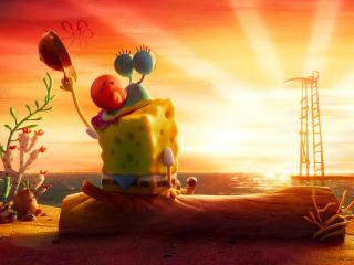 SpongeBob Near Sunset Wallpaper, HD Movies 4K Wallpapers, Images, Photos and Background - Wallpapers Den